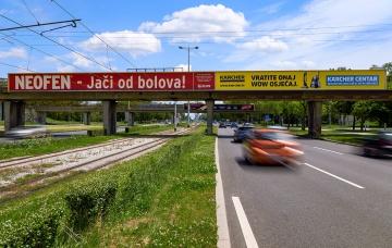 Avenija Dubrovnik - Rotor - Head on board - Zagreb
