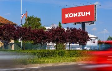 Radnička cesta 171a - Bigboard - Zagreb