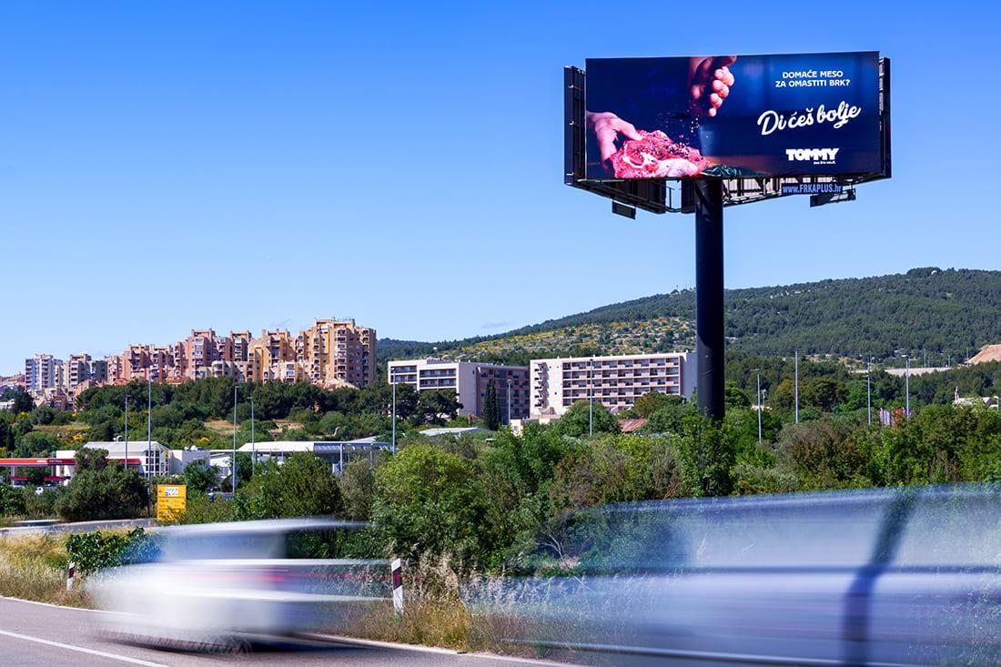 Od Dalmare prema gradu